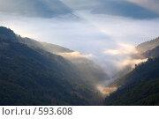 Купить «Горный пейзаж», фото № 593608, снято 28 сентября 2008 г. (c) Юрий Брыкайло / Фотобанк Лори
