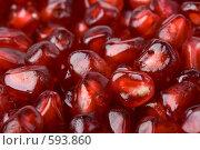 Купить «Фон из спелых сочных зерен граната», фото № 593860, снято 3 ноября 2008 г. (c) Мельников Дмитрий / Фотобанк Лори