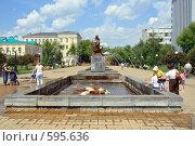 Купить «Памятник изобретателю радио Попову А.С. Екатеринбург», эксклюзивное фото № 595636, снято 16 июня 2007 г. (c) Ivan I. Karpovich / Фотобанк Лори