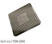 Купить «Микросхема с BGA выводами», фото № 596684, снято 20 ноября 2008 г. (c) Мажугин Алексей / Фотобанк Лори
