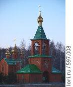 Купить «Ачаирский монастырь», фото № 597008, снято 1 декабря 2008 г. (c) Золотовская Любовь / Фотобанк Лори