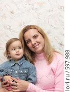 Купить «Мама с ребенком», фото № 597988, снято 3 декабря 2008 г. (c) Анна Игонина / Фотобанк Лори