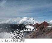 Камчатка, вулкан Авача. Стоковое фото, фотограф Легкобыт Николай / Фотобанк Лори