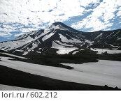 Купить «Камчатка, вулкан Авача», фото № 602212, снято 15 июля 2007 г. (c) Легкобыт Николай / Фотобанк Лори