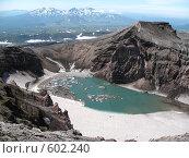 Купить «Камчатка, вулкан Горелый», фото № 602240, снято 20 июля 2007 г. (c) Легкобыт Николай / Фотобанк Лори