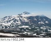 Купить «Камчатка, вулкан Мутновский», фото № 602244, снято 20 июля 2007 г. (c) Легкобыт Николай / Фотобанк Лори