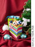 Купить «Подарки под новогодней елкой», фото № 604768, снято 4 декабря 2008 г. (c) Ольга Красавина / Фотобанк Лори