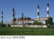 Купить «Первомайская ТЭЦ-14. Санкт-Петербург», фото № 604844, снято 21 мая 2007 г. (c) Александр Секретарев / Фотобанк Лори