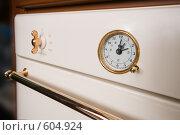 Купить «Панель управления и контроля газовой плиты», фото № 604924, снято 5 декабря 2008 г. (c) Федор Королевский / Фотобанк Лори