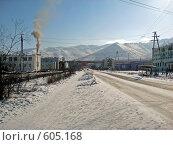 Купить «Поселок Усть-Нера (Якутия). Весна.», фото № 605168, снято 12 марта 2008 г. (c) Афанасьев Юрий / Фотобанк Лори