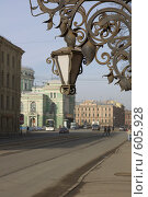 Купить «Петербург.Фонарь», фото № 605928, снято 10 марта 2008 г. (c) Юрий Каркавцев / Фотобанк Лори