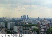Купить «Москва с высоты», фото № 606224, снято 20 июня 2008 г. (c) Дмитрий Тарасов / Фотобанк Лори