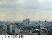 Купить «Москва с высоты», фото № 606248, снято 20 июня 2008 г. (c) Дмитрий Тарасов / Фотобанк Лори