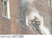 Купить «Балашиха городские виды, пожарные», эксклюзивное фото № 607980, снято 4 октября 2005 г. (c) Дмитрий Неумоин / Фотобанк Лори