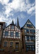Купить «Немецкий город утром», фото № 610552, снято 5 мая 2008 г. (c) Lina Kurbanovsky / Фотобанк Лори