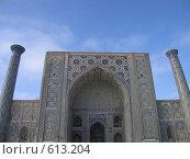 Купить «Узбекистан, Самарканд», фото № 613204, снято 8 января 2008 г. (c) Легкобыт Николай / Фотобанк Лори