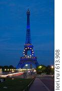 Эйфелева башня ночью, эксклюзивное фото № 613908, снято 17 сентября 2008 г. (c) Tamara Sushko / Фотобанк Лори
