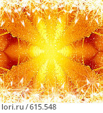 Купить «Рождественская золотая фантазия», иллюстрация № 615548 (c) ElenArt / Фотобанк Лори