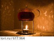 Купить «Чаепитие. Стеклянный чайник», фото № 617964, снято 16 декабря 2008 г. (c) Малютин Павел / Фотобанк Лори