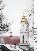 Купить «Воскресенская церковь г.Витебск - декабрь 2008», фото № 619012, снято 24 января 2019 г. (c) Вадим Кондратенков / Фотобанк Лори