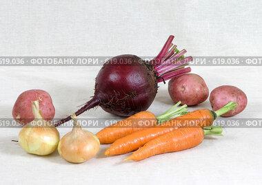 Натюрморт с овощами