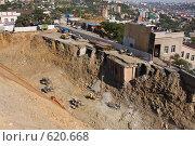 Купить «Стройка туннеля», фото № 620668, снято 19 сентября 2008 г. (c) Леонид Селивёрстов / Фотобанк Лори
