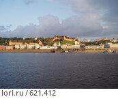 Купить «Волга в Нижнем Новгороде», фото № 621412, снято 21 июля 2008 г. (c) Плотников Михаил / Фотобанк Лори