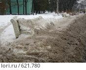 Купить «Лавочка», фото № 621780, снято 3 марта 2007 г. (c) Наталья Груздева / Фотобанк Лори