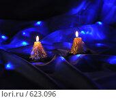 Купить «Новогодние свечи», фото № 623096, снято 16 декабря 2008 г. (c) Литова Наталья / Фотобанк Лори