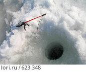 Купить «У лунки», эксклюзивное фото № 623348, снято 8 марта 2007 г. (c) Самохвалов Артем / Фотобанк Лори