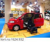 Купить «Машина для водителя-инвалида на выставке в Токио», фото № 624932, снято 22 февраля 2007 г. (c) Олеся Ефименко / Фотобанк Лори