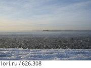Застывшее в беге море. Стоковое фото, фотограф Антон Тимохин / Фотобанк Лори