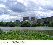 Купить «Москва. Вид из  Лефортовского парка», эксклюзивное фото № 629540, снято 27 июля 2008 г. (c) lana1501 / Фотобанк Лори