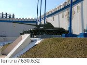 Бункер Сталина в Измайлово. Тяжелый танк Т-10 (2008 год). Редакционное фото, фотограф Сергеев Игорь / Фотобанк Лори