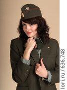 Купить «Сержант в форме», фото № 636748, снято 23 декабря 2008 г. (c) Сапожников Георгий Борисович / Фотобанк Лори