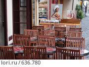 Купить «Уличное кафе на Монмартре. Париж», фото № 636780, снято 20 июня 2007 г. (c) Юрий Синицын / Фотобанк Лори