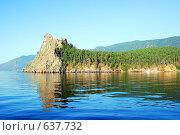 Купить «Скалы на Байкале», фото № 637732, снято 18 августа 2018 г. (c) Estet / Фотобанк Лори