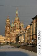 Купить «Санкт-Петербург. Собор Спаса на Крови», фото № 639668, снято 3 января 2009 г. (c) Александр Секретарев / Фотобанк Лори