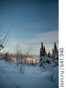 Зимний пейзаж. Стоковое фото, фотограф Андрей Доронченко / Фотобанк Лори