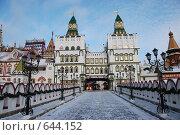Купить «Измайловский кремль. Москва. Россия», фото № 644152, снято 6 января 2009 г. (c) Екатерина Овсянникова / Фотобанк Лори