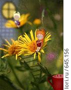 Купить «Кисель из земляники», иллюстрация № 645156 (c) Андреева Екатерина / Фотобанк Лори