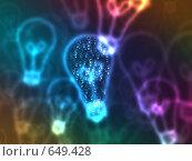 Купить «Боке в форме ламп», иллюстрация № 649428 (c) ИЛ / Фотобанк Лори