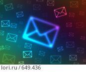 Купить «Боке в форме конвертов», иллюстрация № 649436 (c) ИЛ / Фотобанк Лори