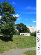 Купить «Городской пейзаж в Минске», фото № 651816, снято 21 июня 2008 г. (c) АЛЕКСАНДР МИХЕИЧЕВ / Фотобанк Лори
