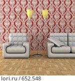 Купить «Интерьер комнаты», иллюстрация № 652548 (c) Ильин Сергей / Фотобанк Лори