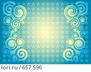 Звёздный фон. Стоковая иллюстрация, иллюстратор Татьяна Коломейцева / Фотобанк Лори