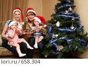 Купить «Новый год под ёлкой», фото № 658304, снято 15 января 2009 г. (c) Галина Жаркова / Фотобанк Лори