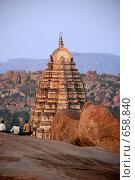 Купить «Индия. Хампи», фото № 658840, снято 1 января 2009 г. (c) Лифанцева Елена / Фотобанк Лори
