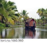 Купить «Плавучий дом - House-boat на реке», фото № 660960, снято 20 ноября 2005 г. (c) Марина Бандуркина / Фотобанк Лори