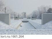 Купить «Площадь Ленина», фото № 661264, снято 15 января 2009 г. (c) Кирилл Федорин / Фотобанк Лори